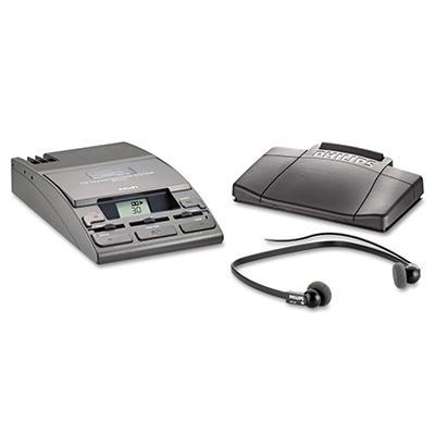 Desktop Analog Mini Cassette Transcriber Dictation