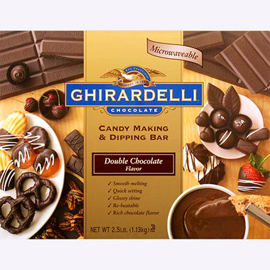 Ghirardelli Candy Making & Dipping Bar - Various Flavors - 2.5 lbs.