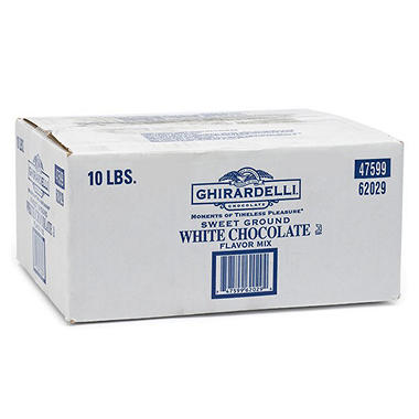 Ghirardelli White Chocolate Mix - 10 lbs.
