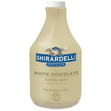 Ghirardelli White Chocolate Flavored Sauce Bottle (89.4 oz.)
