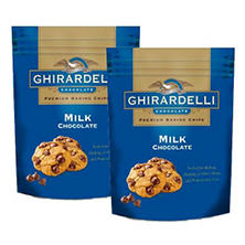 Ghirardelli Milk Chocolate Baking Chips (33 oz.,  2 pk.)