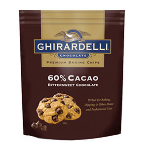 Ghirardelli 60% Cacao Bittersweet Chocolate Baking Chips (30 oz.)