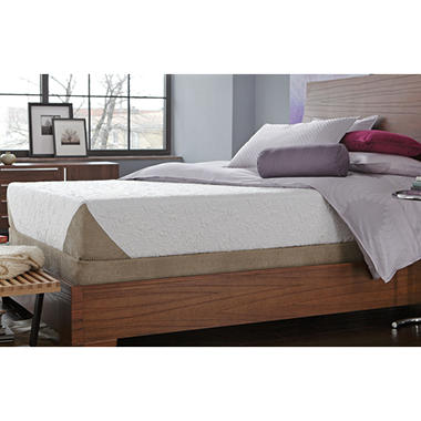Serta iComfort� Genius Gel Memory Foam Mattress Set - Queen