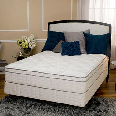 Serta® Westridge Plush Eurotop Mattress Set - Queen