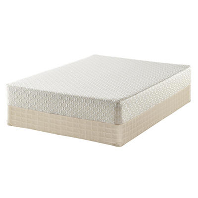 "Serta Roma Premium Memory Foam 10"" Mattress Set - King"