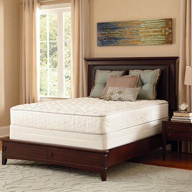 Serta Perfect Sleeper Aberdeen Firm Low Profile Mattress Set - Full