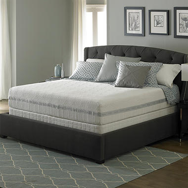 Perfect Day iSeries by Serta Jubilance Split Low Profile Mattress Set ? Queen