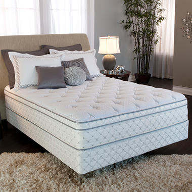 Serta Perfect Sleeper Crestlake Plush Eurotop Mattress Set ? Starting at $498 Online*