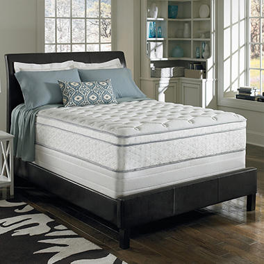 Serta Perfect Sleeper Brookside Cushion Firm Eurotop Mattress Set - Twin