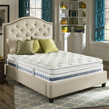 Serta Perfect Sleeper Glenrose Plush Super Pillowtop Mattress ? Full