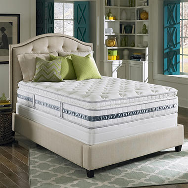 Serta Perfect Sleeper Glenrose Plush Super Pillowtop Mattress Set - Full