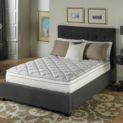Serta Perfect Sleeper Dunbrook Plush Eurotop Mattress - Twin