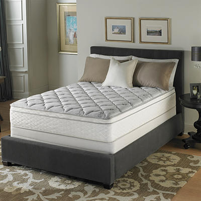 Serta Perfect Sleeper Dunbrook Plush Eurotop Mattress Set - Twin