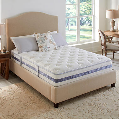 Serta Perfect Sleeper Waterbury Plush Mattress Set - Twin
