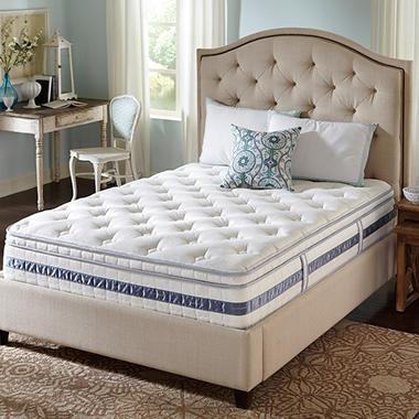 Serta Perfect Sleeper Kennison Cushion Firm Eurotop Mattress - Twin