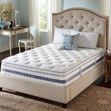 Serta Perfect Sleeper Kennison Cushion Firm Eurotop Mattress - Twin