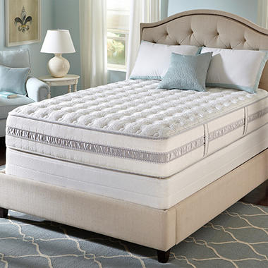Perfect Sleeper Hillside Extra Firm Mattress Set - Twin