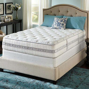 Serta Perfect Sleeper Monterey Luxury Plush Mattress Set - Twin
