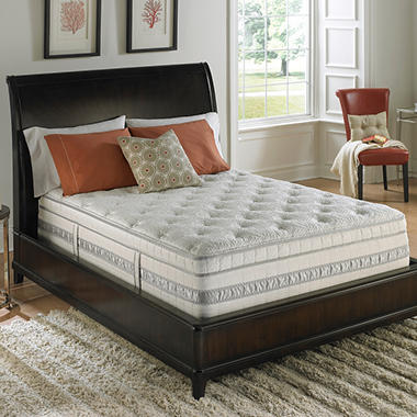 Serta Perfect Sleeper Meadowfield Plush Mega Eurotop Mattress - Twin