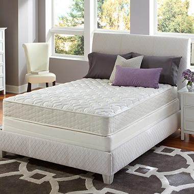 Sertapedic Euclid Firm Mattress Set - Full