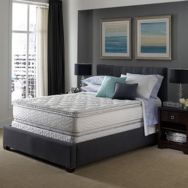 Serta Perfect Sleeper Concierge Suite II Pillowtop Mattress Set - Cal King 6-Pack