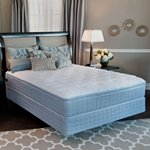 Serta Perfect Sleeper Westerlin Plush Eurotop Low Profile Mattress Set - King