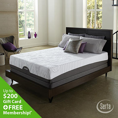 Serta iComfort Savant Everfeel Plush Mattress Set (Various Sizes)