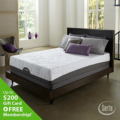 iComfort Savant Everfeel Cushion Firm Mattress Set - King