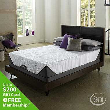 iComfort Genius Everfeel Low Profile Mattress Set - Full
