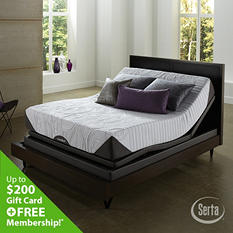 iComfort Genius Everfeel Motion Perfect II Adjustable Foundation Mattress Set (Various Sizes)