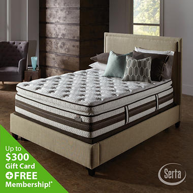 Serta iSeries Profiles Caliber Super Pillowtop Mattress Set (Various Sizes)