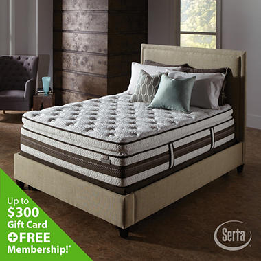 Serta iSeries Profiles Honoree Super Pillowtop Mattress Set (Various Sizes)