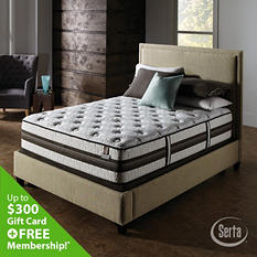 iSeries Profiles Honoree Cushion Firm Mattress Set - King
