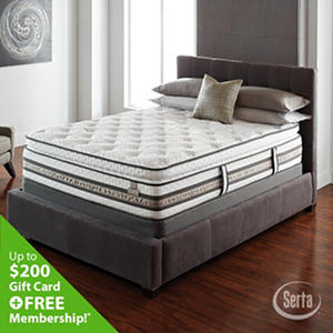 Serta iSeries Approval Super Pillowtop Mattress Set (Various Sizes)