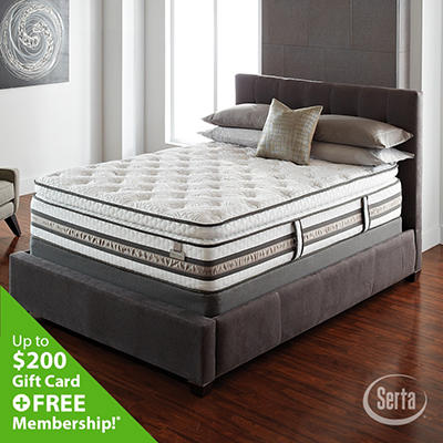 iSeries Approval Super Pillowtop Mattress - Cal King