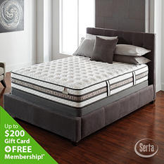 iSeries Expression Firm Low Profile Mattress Set - Queen