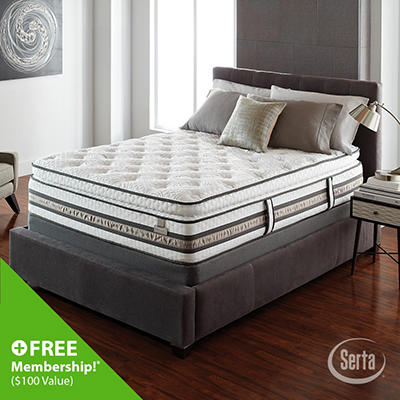 iSeries Merit Super Pillowtop Mattress - Cal King