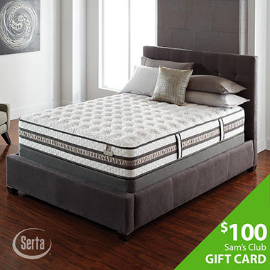 Iseries Vantage Applause Queen Firm Serta Mattress
