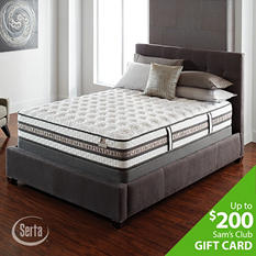 Serta iSeries Vantage Firm Mattress Set - Twin XL