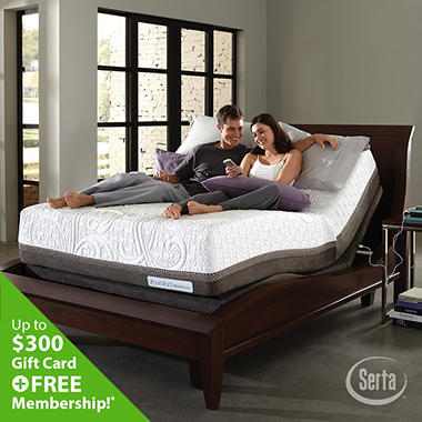 iComfort Directions Acumen Firm Motion Perfect II Adjustable Foundation Mattress Set - Cal King