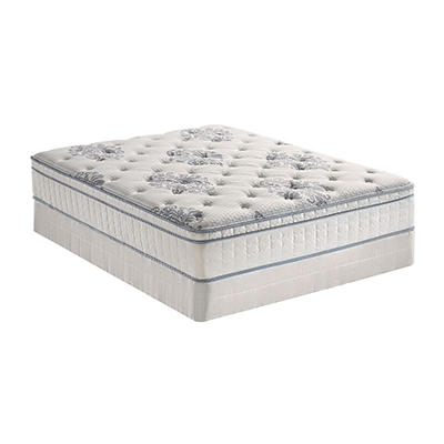 Serta Perfect Sleeper Valleybrook Cushion Firm Eurotop Mattress Set - Queen