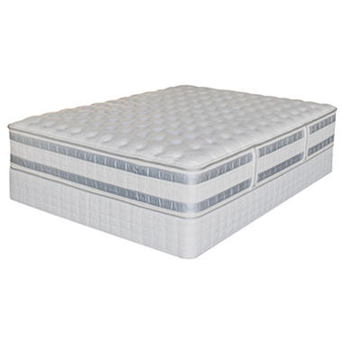 Serta iSeries Applause Firm Low Profile Mattress Set - King