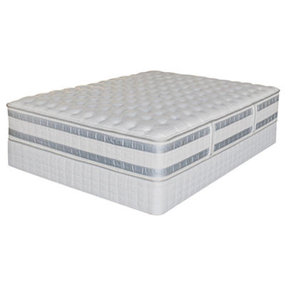 Serta iSeries Applause Firm Mattress Set - Cal King