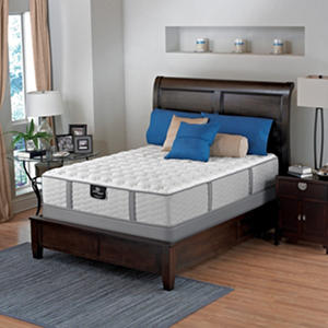 Serta Perfect Sleeper Oakbridge Luxury Firm Mattress Set With Low Profile Boxspring