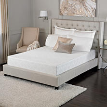 "Serta Sleep Excellence Avesta 10"" Memory Foam Queen Mattress"