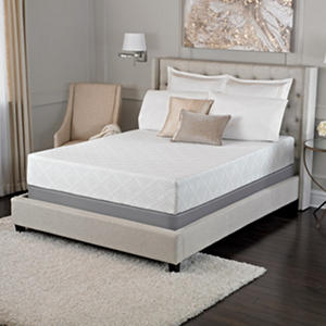 "Serta Sleep Excellence Avesta 10"" Memory Foam Mattress and Mattress Set (Various Sizes)"