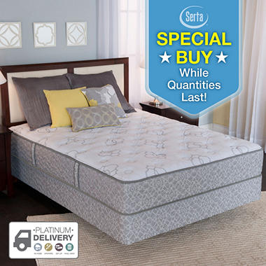 Serta Perfect Sleeper® Silverdale Mattress Set (Various Sizes)
