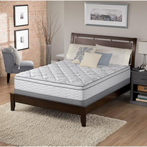 Serta Perfect Sleeper Chasefield Plush Eurotop Full Mattress Set