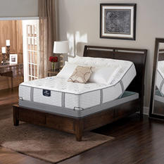 Serta Perfect Sleeper Braymore Luxury Plush Adjustable Mattress Set