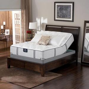 Serta Perfect Sleeper Braymore Luxury Plush Adjustable Mattress Set
